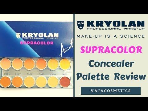 Kryolan Supra Concealer Palette Review
