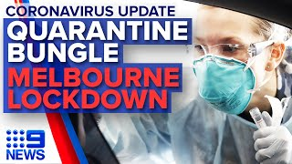 Coronavirus: Security Guard Reveals Quarantine 'failings', Victoria Lockdowns | 9 News Australia