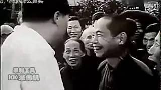 1959年毛泽东回到故乡韶山 Mao Zedong returned to his hometown shaoshan, 1959