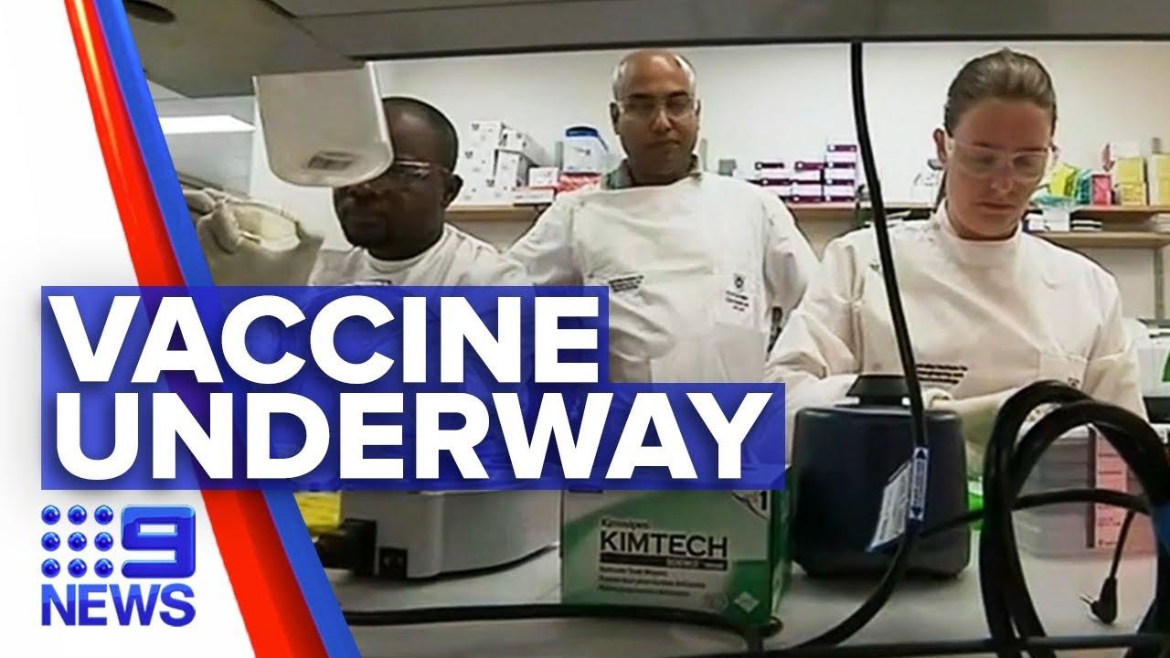 Coronavirus vaccine progress in Australian labs | Nine News ...