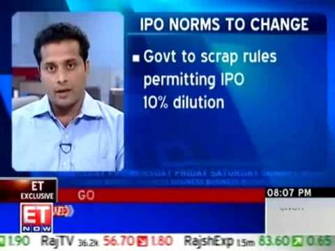 Indian government to change IPO rules