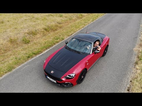 Abarth 124 Spider Test 1.4 (170 PS) - Fahrbericht - Review - Fiat Multiair GT Mazda MX-5