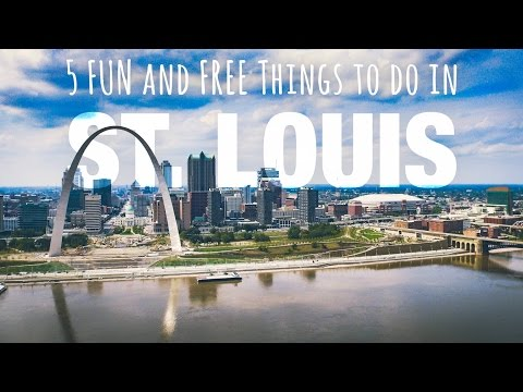 Top 5 FUN And FREE Things To Do In St. Louis, Missouri!