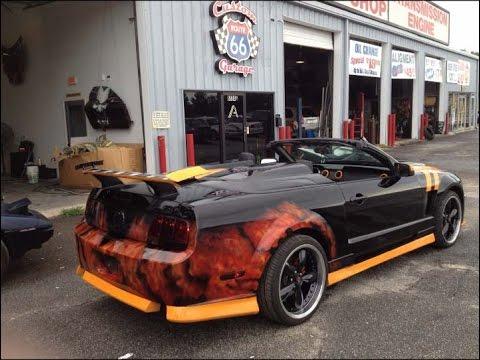 Mustang mach 1 william malave doovi for Garage fiat marignane