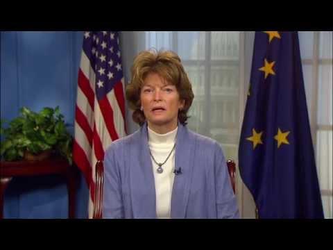 1/24/15 Sen. Lisa Murkowski (R-AK) Delivers GOP Address on the Keystone jobs bill