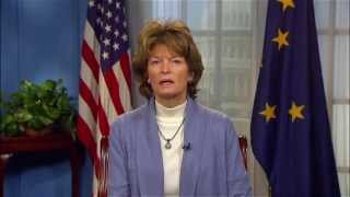 1/24/15 Sen. Lisa Murkowski (R-AK) Delivers GOP Address on the Keystone jobs bill