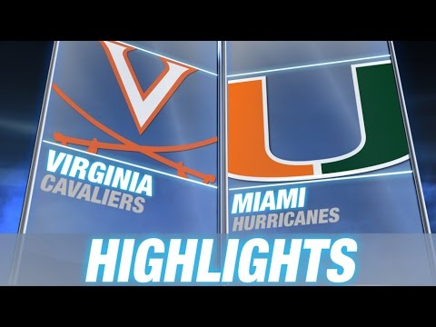 Virginia vs Miami | 2014-15 ACC Men