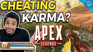 I Caught My Teammate Cheating In Apex Legends...Then He Died To Cheaters!? (Gameplay)