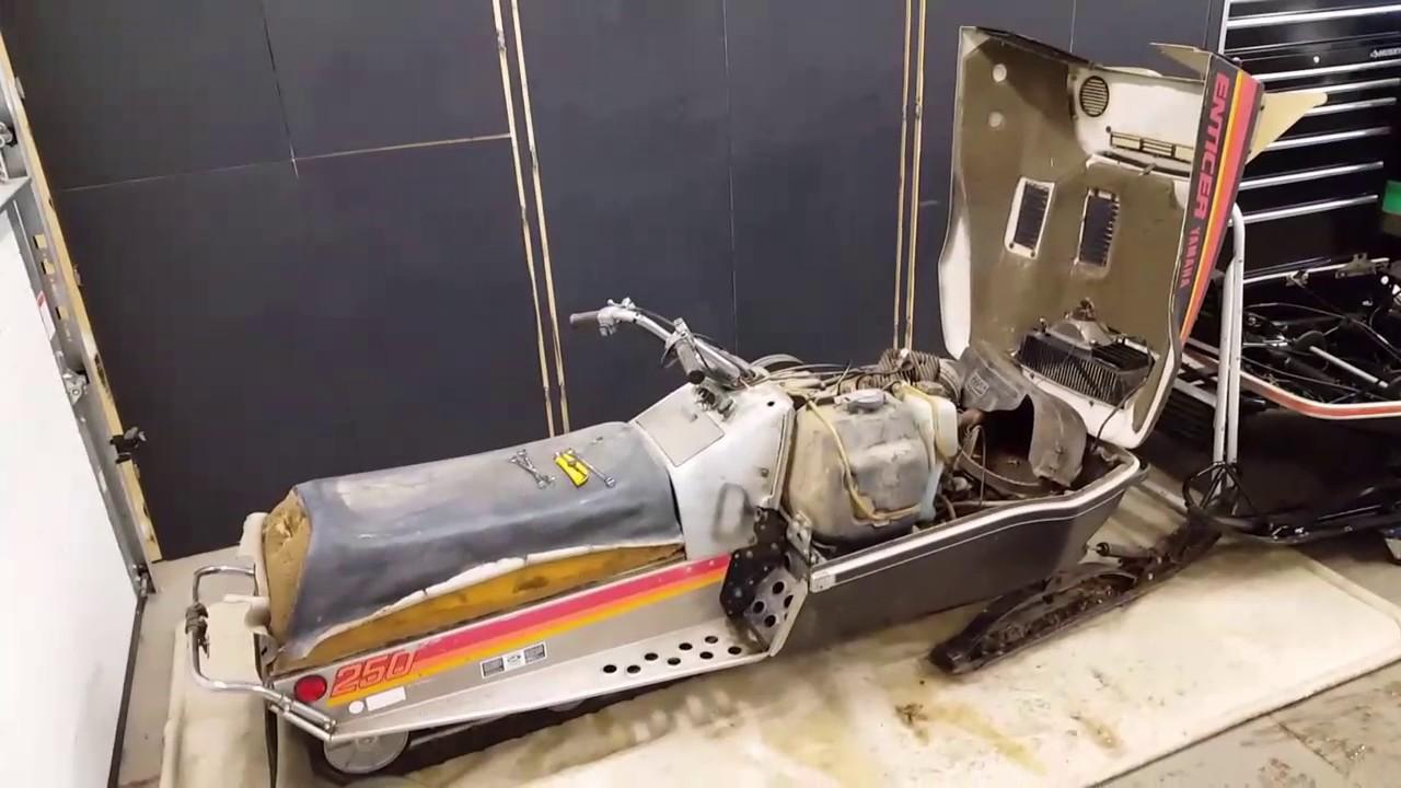 1977 Yamaha Enticer 250 Wiring Diagram Electrical Diagrams 1980 Motor Rebuild Part 1 Youtube 1979 300