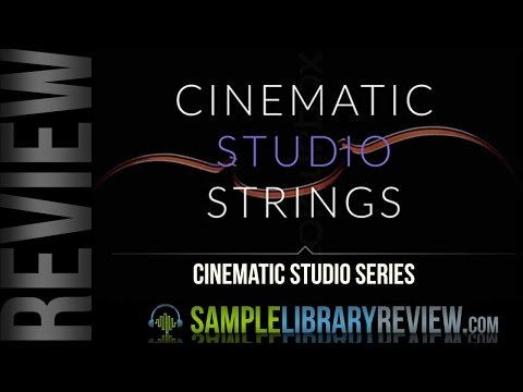 Review Cinematic Studio Strings by Cinematic Studio Series