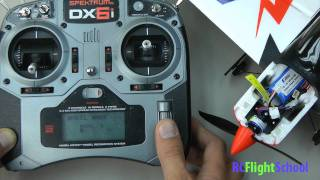 How To Bind An RC Plane or Helicopter-Using Spektrum DX6i