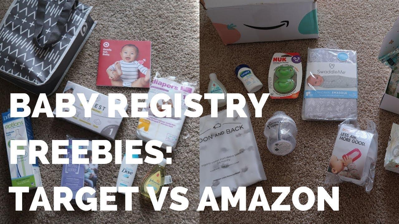 Baby Registry Gift: Target vs Amazon