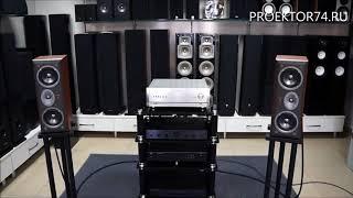 прослушивание акустики центрального канала JBL Northridge EC25 Cherry в стереорежиме