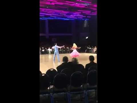 Barbie Showdance at Ohio Star Ball 2015