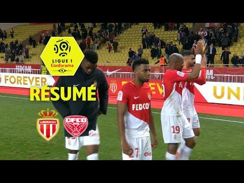 AS Monaco - Dijon FCO (4-0)  - Résumé - (ASM - DFCO) / 2017-18