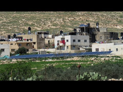Israel confiscates solar panels supplying power to village not connected to grid for 50 years