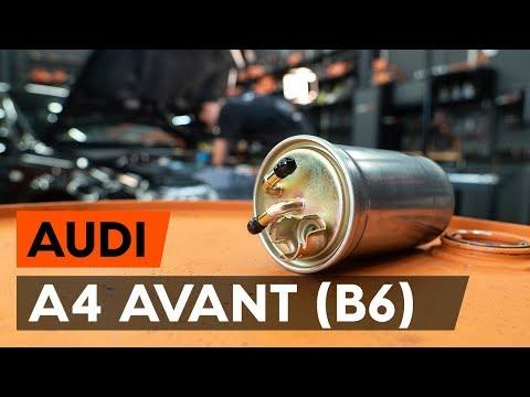 Jak Vyměnit Palivový Filtr Na AUDI A4 B6 (8E5) [NÁVOD AUTODOC]