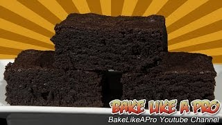 Dark And Delicious Brownies Recipe !