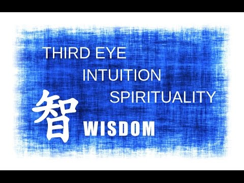 POWERFUL Affirmations for unlocking Intuition,  Spirituality, Third Eye & Wisdom