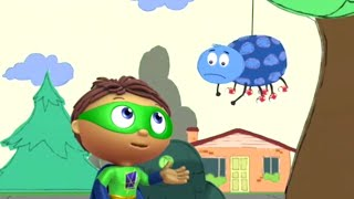 Super WHY! Full Episodes ✳️ The Sad Spider ✳️ S01 (HD) Videos For Kids