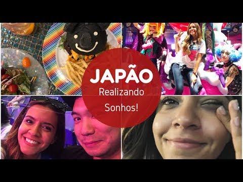 REALIZEI UM SONHO NO JAPÃO! - Tokyo- Kawaii Monster Cafe, Sailor Moon Musical, Templo e +!