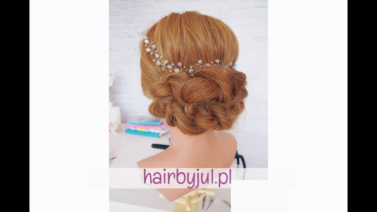 Proste ślubne Upięcie Krok Po Kroku Hair By Jul