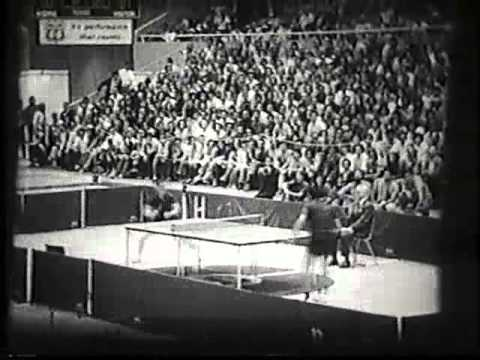 Ping Pong Diplomacy - 1972 stanford exhibition
