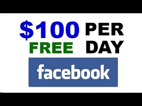 MAKE $100 PER DAY FOR FREE ON FACEBOOK  2018 {EASY}