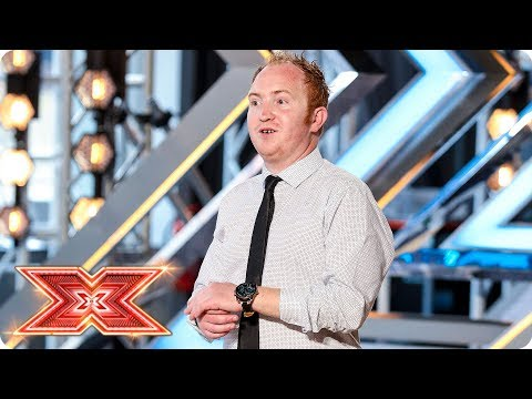 Can Mark McKeown impress with his Westlife cover? | Auditions Week 3 | The X Factor 2017