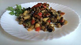 Ну, очень вкусное овощное рагу ))) Рагу Овощное)