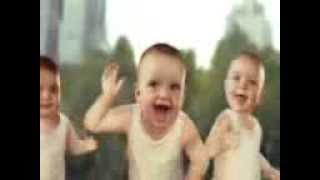 Small Babies stunts on punjabi song(KS makhan)