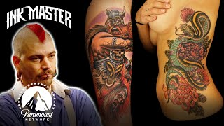 The Best of Self-Taught Artİsts 🎨 Ink Master