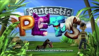 Fantastic Pets Title Screen (Xbox 360)