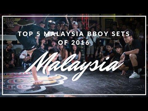 Top 5 Malaysia Bboy Sets of 2016 / Freshit Tv