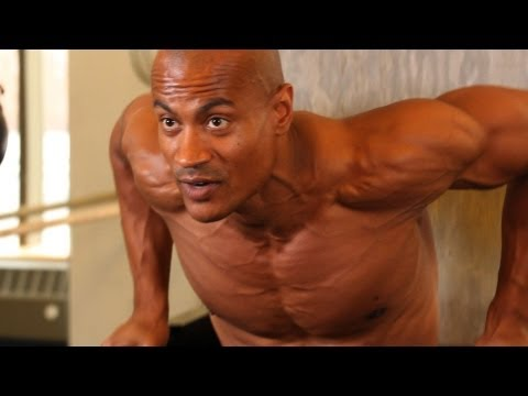 How to Do a Chest Dip | Chest Workout