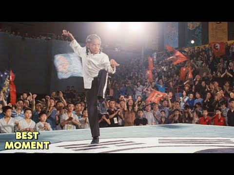 Dre's Victory Scene | The Karate Kid (2010) HD [BEST MOMENT]