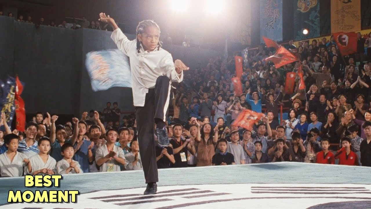 Download Dre's Victory Scene | The Karate Kid (2010) HD [BEST MOMENT]