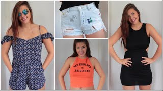 Sommer FESTIVAL/PARTY TRY-ON HAUL 2016 | H&M, Pull&Bear, Springfield...