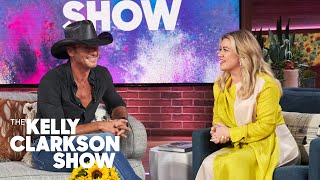 Tim McGraw shares that he and wife Faith Hill love to cook healthy ...