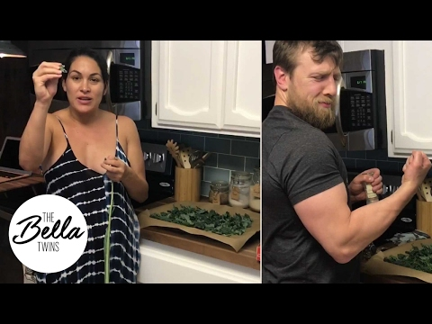 Learn How To Cook Daniel Bryan's Favorite Snack KALE CHIPS With Chef Brie!