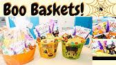 Halloween Gift Basket Diy Youtube