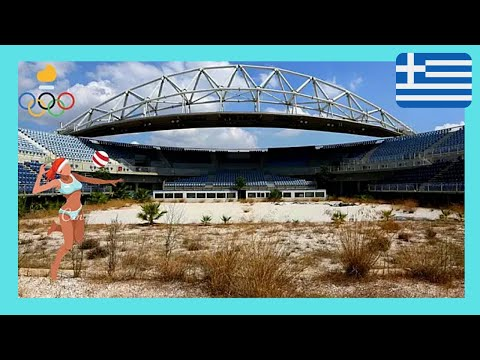 ATHENS, abandoned and neglected OLYMPIC STADIUM (GREECE)