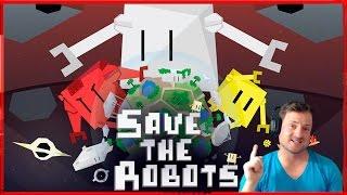SAVE THE ROBOTS DE JUMPTOPLAY JUGANDO A UN JUEGO PARA ANDROID Y AHORA TAMBIEN PARA IOS IPHONE  IPAD