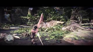 Mod Progress - Monster Hunter World in 21:9 aspect ratio