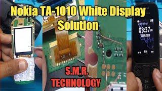 Nokia TA-1010 White Display Solution S.M.R. TECHNOLOGY