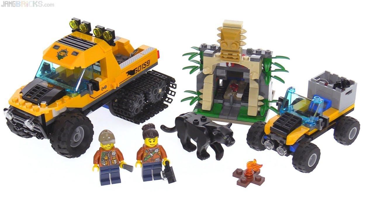 lego city jungle halftrack mission review 60159