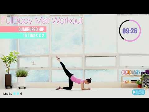 20 นาที พิลาทิส ลดทั้งตัว ท่าง่ายมาก | Full body Pilates