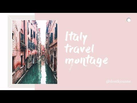 Italy Music Vlog / Travel Montage / 義大利旅遊記