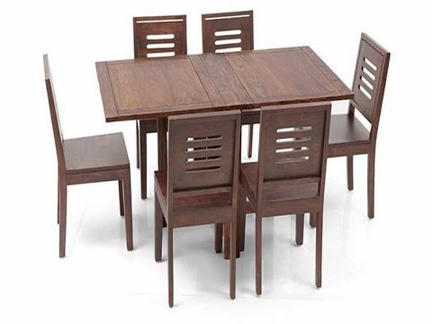 Folding Dining Room Table Magnificent Great Ideas For Collapsible Dining Table  Youtube Decorating Design