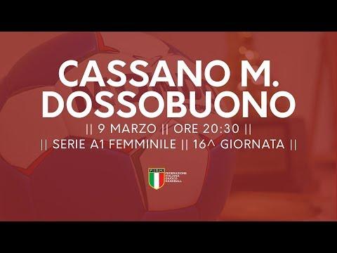 Serie A1F [16^]: Cassano Magnago - Dossobuono 19-19